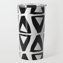 Black and White Abstract II Travel Mug