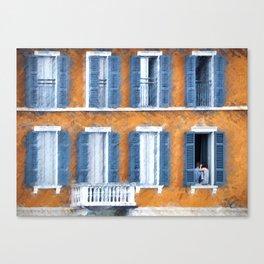 Look Through Any Window Canvas Print