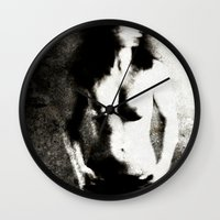 women Wall Clocks featuring Women by Falko Follert Art-FF77
