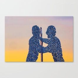 Berlin Molecule Men Canvas Print