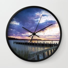 Jetty Delight Wall Clock