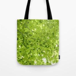 Leaves - JUSTART (c) Tote Bag