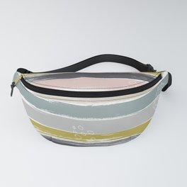 Fragments, Brushstrokes and Circles Fanny Pack