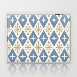Mid Century Modern Atomic Triangle Pattern 124 Laptop & iPad Skin