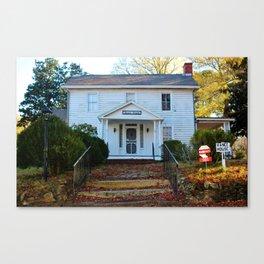 The Vance House Canvas Print