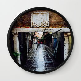 The Red Jackets Wall Clock