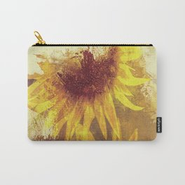 Peeping Sunflowers Carry-All Pouch