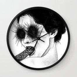 asc 591 - Le regard de la Méduse (The mesmerizing mermaid) Wall Clock