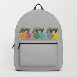 Rambling Rhinos Backpack