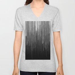 The Lights (Black and White) Unisex V-Neck