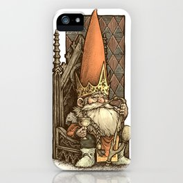 King of the Gnomes iPhone Case