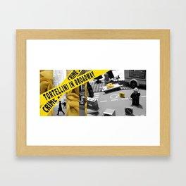 tortellini Framed Art Print