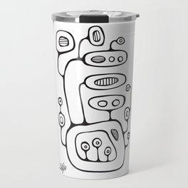 Orbs N Lines - Broadcast Travel Mug