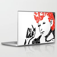 lucy Laptop & iPad Skins featuring Lucy by Rucifer