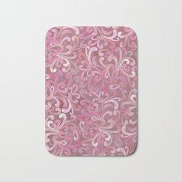 Pink on Pink - Paisley Bath Mat