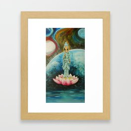 Quan Yin Framed Art Print