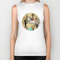 laptop Biker Tanks featuring Found You There  by Sandra Dieckmann