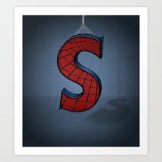 Superbet 'S' Art Print