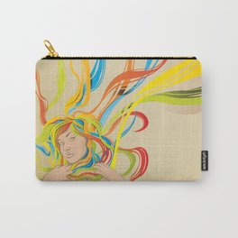 Abstractionist – Hate to Love Carry-All Pouch