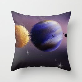 Laptop Motiv 19. Throw Pillow