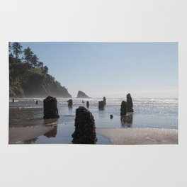 Neskowin Ghost Forest Rug