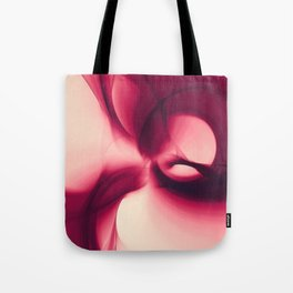 Splash of Wine Fractal Tote Bag