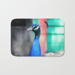 Peacock 1 Bath Mat
