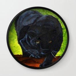 Black Panter Collection Wall Clock