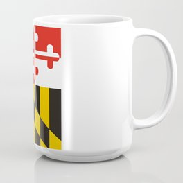 maryland state state flag united states of america country Coffee Mug