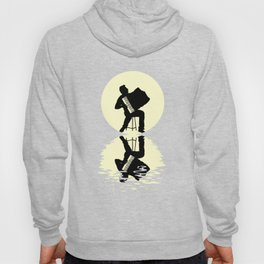 Accordion Moon Hoody