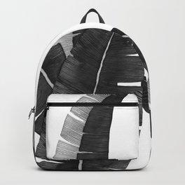 Banana Leaves BW Backpack