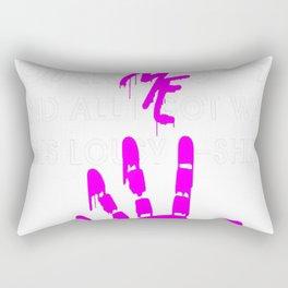 Garrus-9 lousy t-shirt Save me Rectangular Pillow