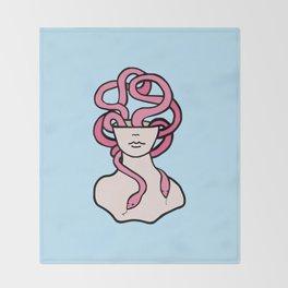 Snakehead Throw Blanket