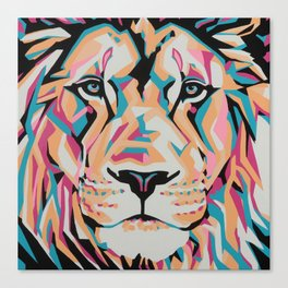 "Mufasa ""Serengeti Series"" Canvas Print"