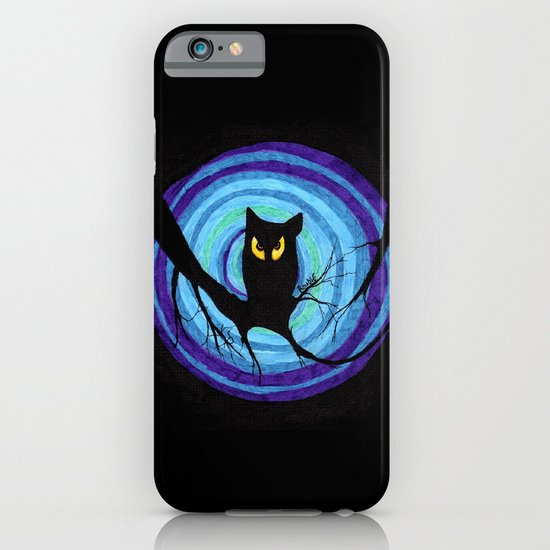 time for child stories: the EVIL OWL iPhone & iPod Case