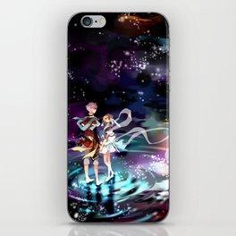Meet Me Beneath The Stars iPhone Skin