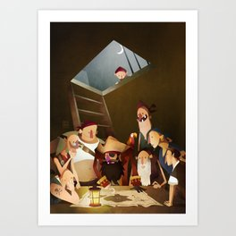 Secret Treasure Art Print