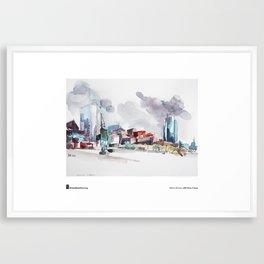 """Marion Rivolier, """"La Défense"""" Framed Art Print"""