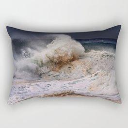 Monster Waves At Pipeline .2 Rectangular Pillow