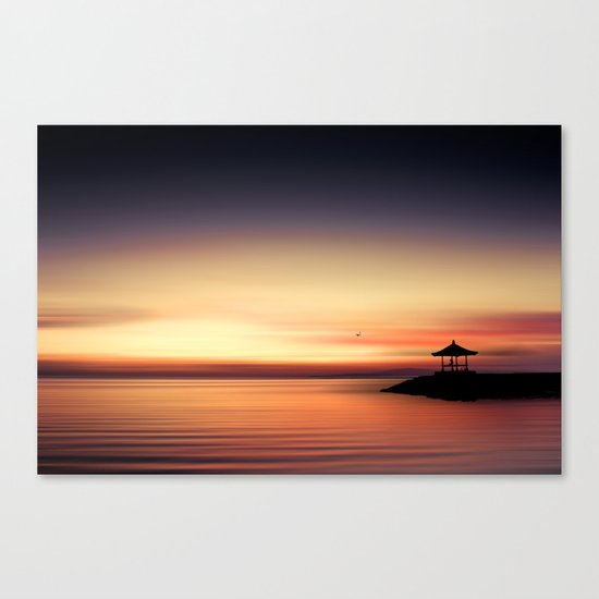 the silent sea Canvas Print