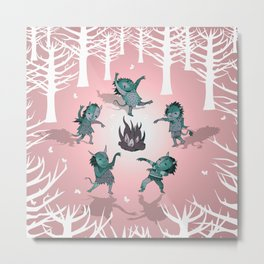 Little Monster Mashers Metal Print