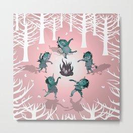 Little Monster Mashers Metal Print