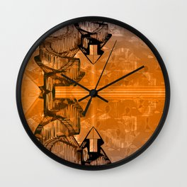 Atlante 09-06-16 / AMONG WAVES Wall Clock