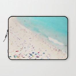 beach love III square Laptop Sleeve