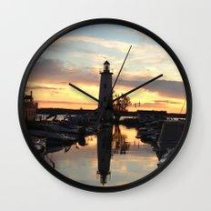 Sylvan Lake Lighthouse Wall Clock