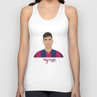 neymar Tank Tops featuring NEYMAR - FC BARCELONE by THE CHAMPION'S LEAGUE'S CHAMPIONS
