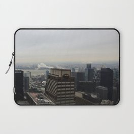 NYC West Side Panorama with Hudson River Laptop Sleeve