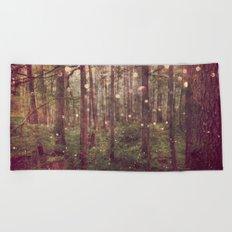 Autumn Lights Beach Towel