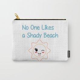 Shady Beach Carry-All Pouch