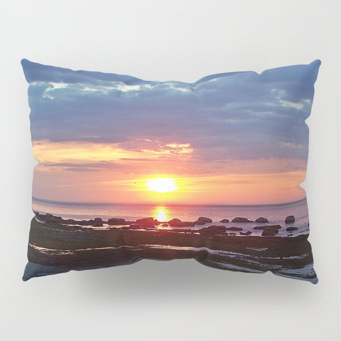 Sunset under Stormy Skies Pillow Sham